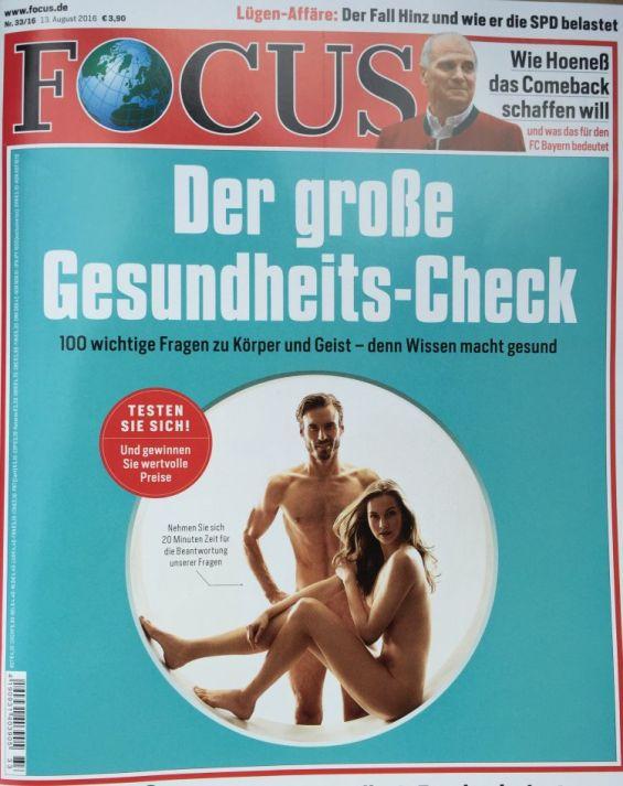 FOCUS | Haut und Haare - sie brauchen Schutz 08.2016