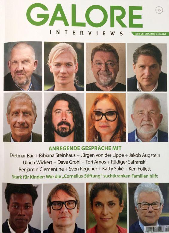 GALORE 25 | Das Interviewmagazin | 10.2017