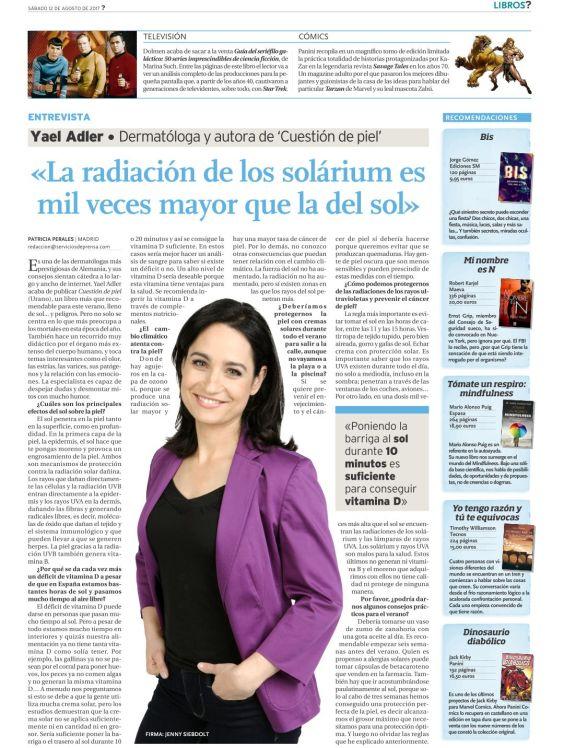 Magazin serviciosdeprensa.com aus Spanien 08.2017