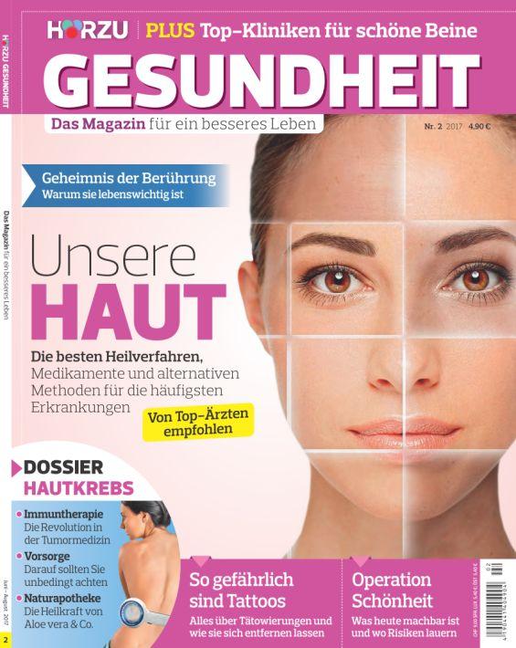 Hörzu Gesundheit | Yael Adler: Die Kunst des Weglassens | Nr. 2 2017 (PDF)