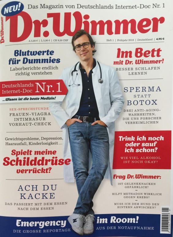 Dr. Wimmer Das Magazin von Deutschlands Internet-Doc Nr. 1 | Drei Beiträge | 04.2018