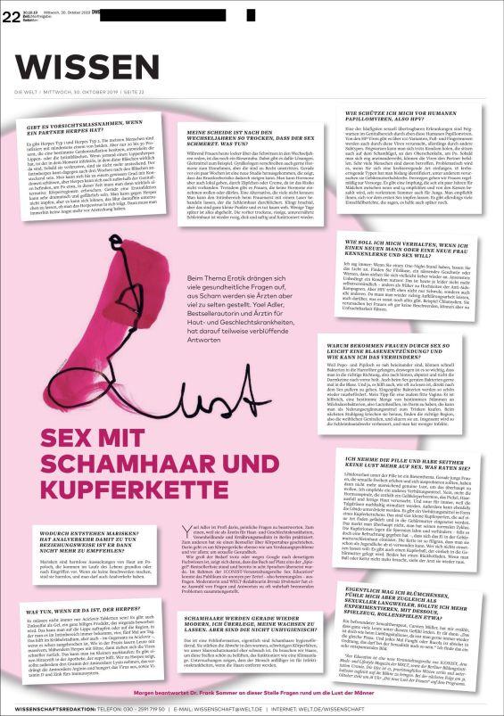 Sex mit Schamhaar und Kupferkette
