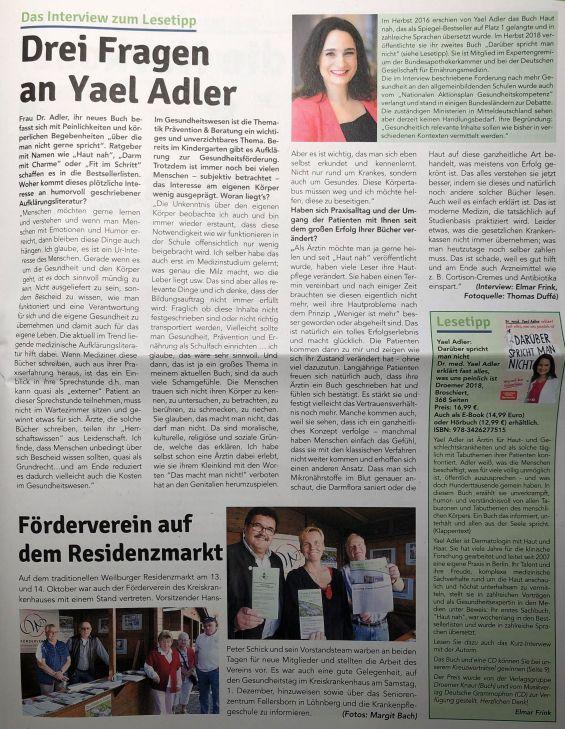 Drei Fragen an Yael Adler