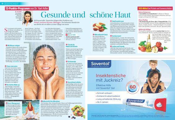 12-Punkte–Programm von Dr. Yael Adler: Gesunde und   schöne Haut