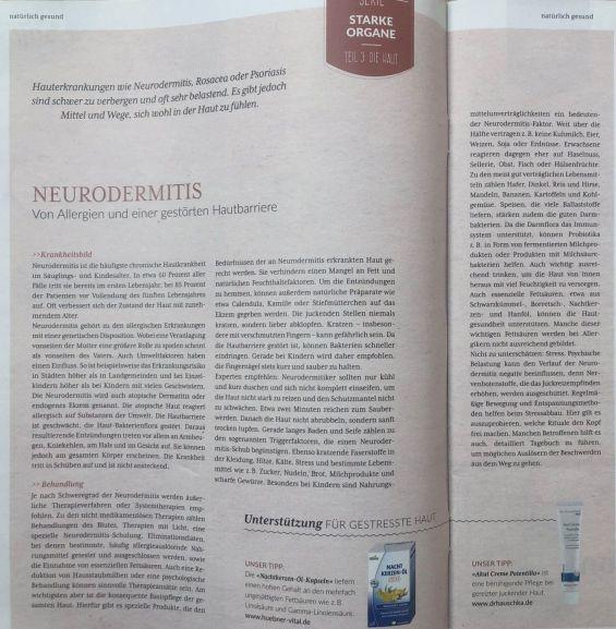 Neurodermitis   Von Allergien und einer gestörten Hautbarriere