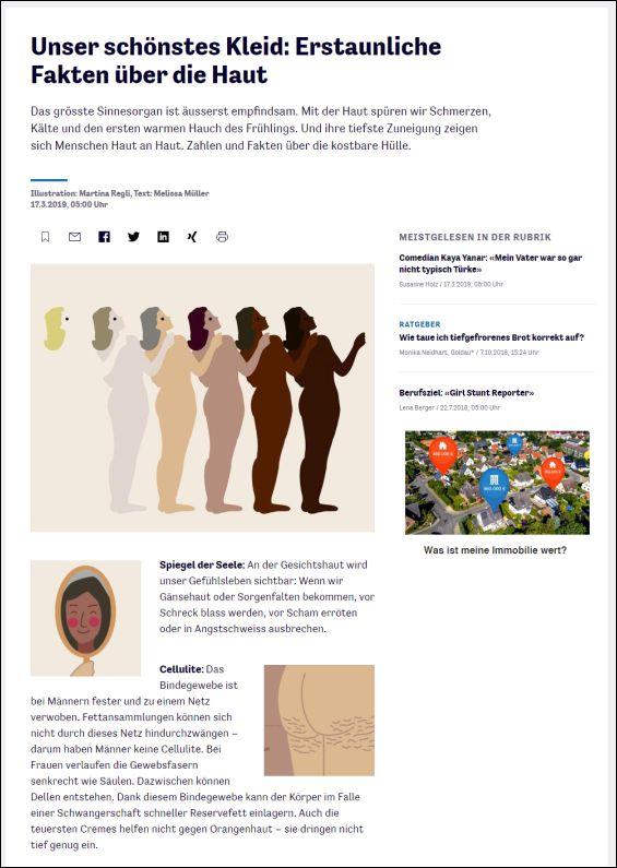 Unser schönstes Kleid: Erstaunliche Fakten über die Haut