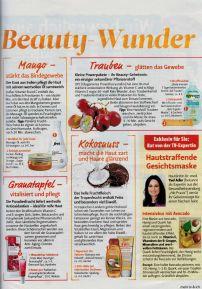 Beauty-Tipp: Hausgemachte Maske mit Avocado, Honig, Quark und Zitrone strafft die Haut
