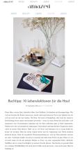 amazedmag.de | Buchtipp: 10 Lebenslektionen für die Haut 09.2016