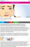 Buchrezension derStandard.at 09.2016: Von Popel bis Pickel
