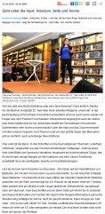 Geht unter die Haut: Solarium, Seife und Sonne | Buchvorstellung Kirchheim | teckbote.de | 10.2016