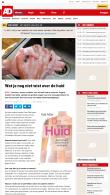 ad.nl: Wat je nog niet wist over de huid | 07.02.2017