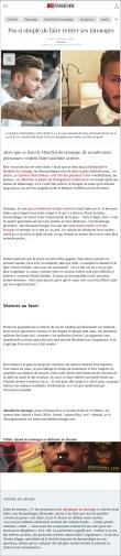 leparisien.fr: Pas si simple de faire retirer ses tatouages | 04.03.2017