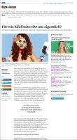tagesanzeiger.ch |  Für wie blöd haltet ihr uns eigentlich? Die Beauty-Industrie seift die Frauen mit ihren Versprechungen ein. Das Problem: Sie machen mit. | 01.07.2017
