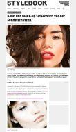 stylebook.de | Kann uns Make-up tatsächlich vor der Sonne schützen? | 24.04.2018