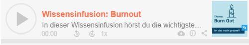Wissensinfusion: Burnout
