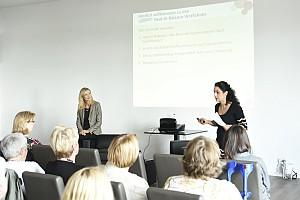 Haut in Balance: Pflege, Psyche, Ernährung und Sport im Duett mit Nina Ruge am 26.8.2014 in Hamburg